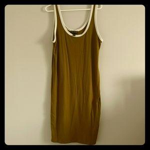 Army Green bodycon dress